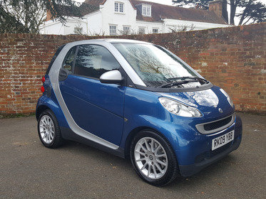 Smart ForTwo CABRIO PASSION 71BHP / ONLY 20 POUNDS A YEAR TO TAX / AIR CON