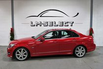 Mercedes C Class C220 CDI BLUEEFFICIENCY SPORT ED125 175 BHP