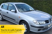 Nissan Almera E - 5 Door 1.8 Automatic - MOT December 2020