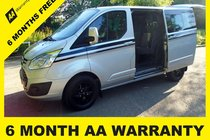 Ford Transit 290 LIMITED 5 SEATER CREW 6 MONTH AA WARRANTY - 12 MONTH MOT - FULL SERVICE - 12 MONTH AA BREAKDOWN COVER