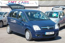 Vauxhall Meriva Life 1.7CDTi 16v 97000 MILES SERVICE HISTORY