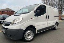 Vauxhall Vivaro 2700CDTI SWB SHR P/V used van in White