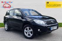 Toyota RAV4 VVTI XT5 TOP SPEC SATNAV LEATHER SUNROOF