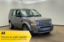 Land Rover Discovery TDV6 GS E4 2 former OWNERS FULL SERVICE HISTORY  Reasons to Buy - Smart, Spacious Interior  AUTOMATIC ** AUTOMATIC