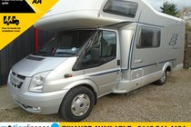 Ford Transit HYMER 6 BERTH MOTORHOME=6 MONTH WARRANTY=12 MONTH SERVICE=12 MONTH AA COVER=12 MONTH FULL SERVICE
