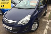 Vauxhall Corsa 1.0 ECOFLEX S ONLY 69,000 FSH NEW MOT PX WELCOME IDEAL FIRST CAR FINANCE AVAILABLE