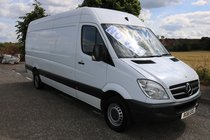 Mercedes Sprinter 313 CDI LWB **no vat** freshly ply lined years mot low miles *finance available*