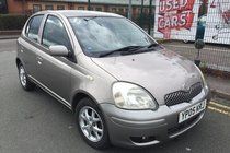 Toyota Yaris 1.3 VVT-I COLOUR COLLECTION 5DR 2005 ** LOW 46,437 MILES ** 3 KEYS ** 1 OWNER FROM BRAND NEW