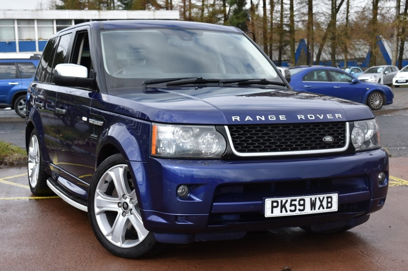land rover range rover sport tdv8 hse e4 tvs glasgow ltd. Black Bedroom Furniture Sets. Home Design Ideas