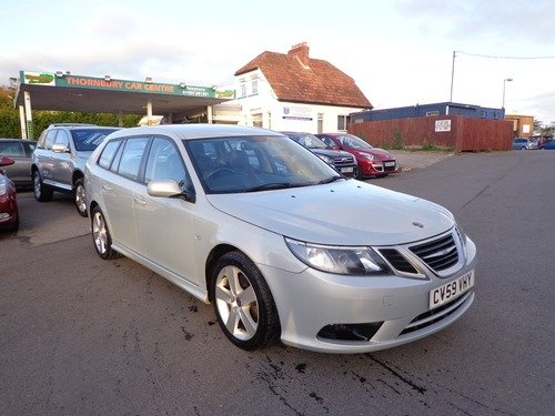 saab 9 3 1 9tid turbo edition 150bhp thornbury car centre. Black Bedroom Furniture Sets. Home Design Ideas