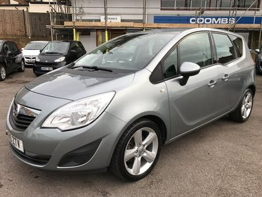 Vauxhall Meriva 1.4I 16V VVT TURBO  EXCLUSIV 120PS