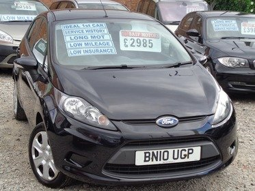 Ford Fiesta 1.25 EDGE 60BHP