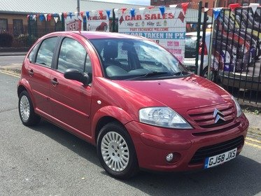 Citroen C3 1.4I 16V EXCLUSIVE 5DR 2008/58 *** LOW 42,250 MILES *** 12 MONTH AA BREAKDOWN COVER INCLUDED