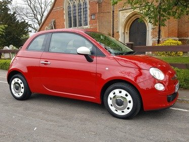 Fiat 500 1.2I COLOUR THERAPY S/S ---JUST 3% FLAT FINANCE ON THIS CAR!
