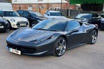 Ferrari 458 4.5 Italia Auto Seq 2dr