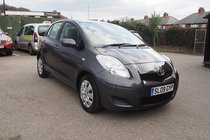 Toyota Yaris 1.33 VVT-i TR SERVICE HISTORY ! £30 YEAR TAX ! 12 MONTHS MOT ! 99% FINANCE APPROVAL !
