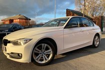 BMW 3 SERIES 316d SPORT used car in white