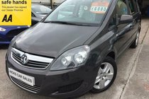 Vauxhall Zafira 1.7 CDTi ecoFLEX Exclusiv [110] VERY NICE EXAMPLE WITH ONLY 46,000 PX WELCOME FINANCE AVAILABLE