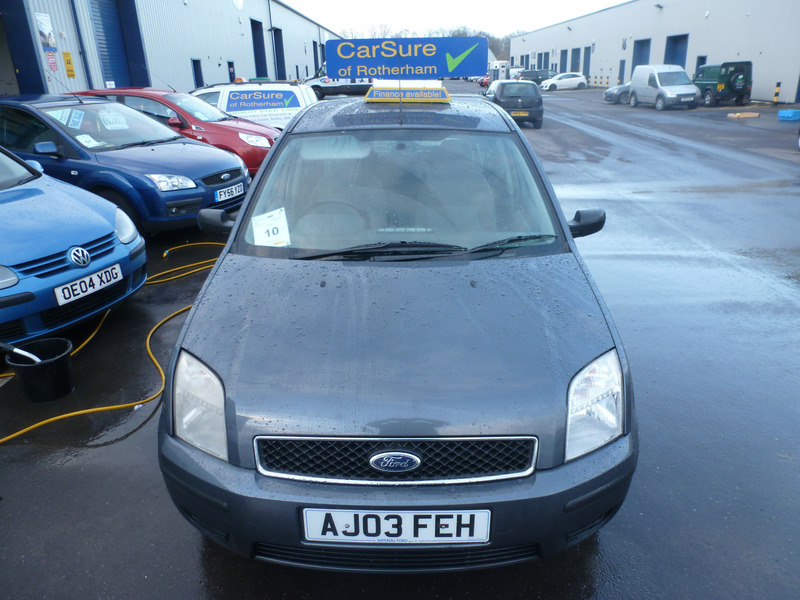 Ford Fusion 1.4 TDCi 3   CarSure of Rotherham