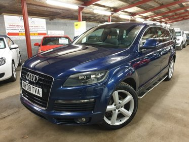 Audi Q7 4.2TDI QUATTRO S LINE (HIGH SPEC, NAV, LEATHER, REAR CAMERA + MORE)