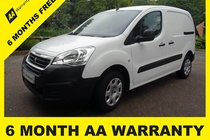 Peugeot Partner HDI PROFESSIONAL 850 6 MONTH AA WARRANTY - 12 MONTH MOT - FULL SERVICE - 12 MONTH AA BREAKDOWN COVER