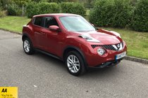 Nissan Juke N-CONNECTA DIG-T SAT NAV BLUETOOTH DAB RADIO REVERSE CAMERA