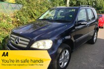 Mercedes M Class ML270 CDI SPECIAL EDITION