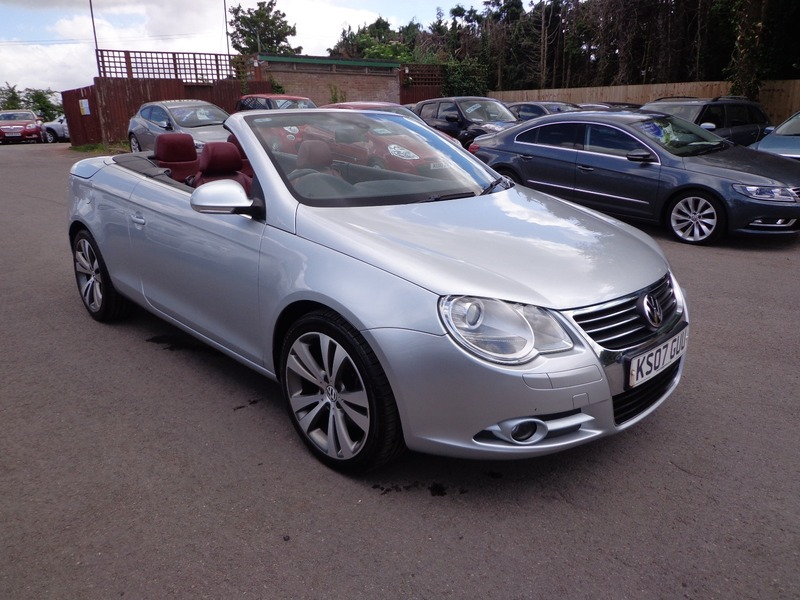 volkswagen eos fsi dsg sport 250bhp thornbury car centre. Black Bedroom Furniture Sets. Home Design Ideas
