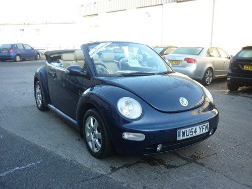 Volkswagen Beetle 1.8T CABRIOLET Leather Finance Available