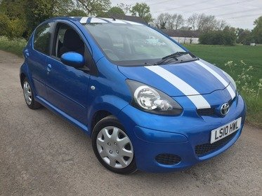 Toyota AYGO 1.0VVT-I BLUE TOO LATE SOLD !!