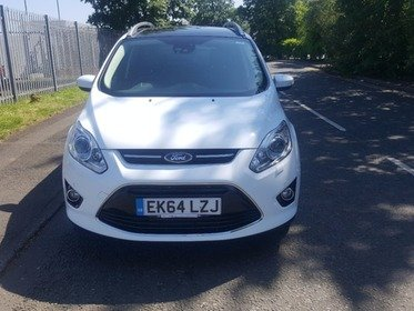 Ford Grand C-Max 1.6 TDCI TITANIUM X 115PS..LOW MILES...FDSH...PAN ROOF...PARK ASSIST..HALF LEATHER