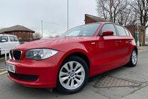 BMW 1 SERIES 116i ES used car in red