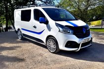 Renault Trafic SL27 SPORT NAV ENERGY DCI #CamperConversion #FinanceAvailable #Campervan