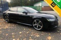 Audi A7 3.0 TDI 272 BHP Black Edition Quattro Sportback S Line