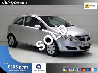 Vauxhall Corsa 1.4 Exclusiv 3DR Fully Automatic, £130 Road Tax, 43MPG