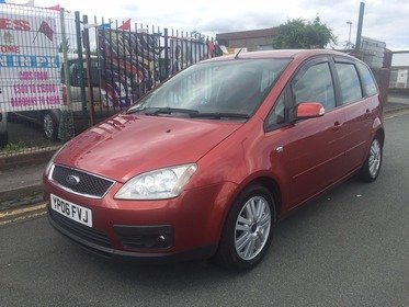 Ford C-Max C-MAX GHIA AUTOMATIC *** LOW 60,081 MILES  *** MOT TILL 04/08/2018 WITH NO ADVISORIES