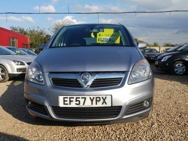 Vauxhall Zafira 1.8I 16V  DESIGN 140PS