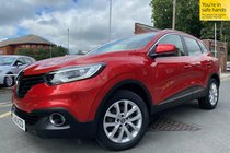 Renault Kadjar DYNAMIQUE NAV DCI used car in Red