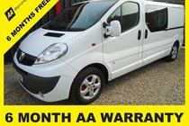 Vauxhall Vivaro 2900 CDTI SPORTIVE P/V DCB 6 MONTH WARRANTY-12 MONTH MOT-12 MONTH AA COVER-12 MONTH FULL SERVICE
