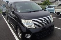 Nissan Elgrand 2007/5 HIGHWAY STAR BLACK LEATHER LIMITED