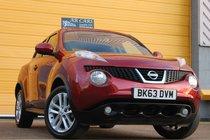 Nissan Juke Acenta PREMIUM 1.6 SAT NAV REARVIEW CAMERA