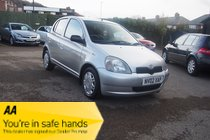 Toyota Yaris VVTI GS 1 FORMER OWNER ! 12 SERVICE HISTORY STAMPS ! 12 MONTHS MOT !