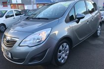 Vauxhall Meriva EXCLUSIV 1.4i 16v VVT Turbo (140PS)(a/c)