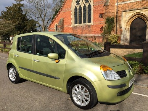 Renault Modus Dynamique 16V FULL HISTORY WITH A GREAT SPEC, EXCELLENT VALUE!