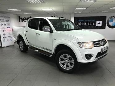 Mitsubishi L200 Di-d 4X4 Warrior LWB DOUBLE CAB + Leather/ Privacy Glass +++++ ASK FOR A FINANCE QUOTE