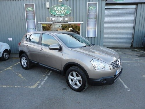 Nissan Qashqai ACENTA 2.0 1 OWNER 4WD WITH FULL SERVICE HISTORY