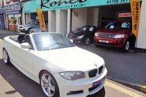 BMW 1 SERIES 118d M Sport AUTO CONVERTIBLE, FSH,STUNNING!