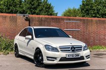 Mercedes C Class 3.0 C350 CDI BlueEFFICIENCY Sport Edition 125 7G-Tronic 4dr