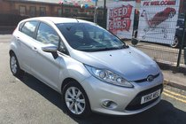 Ford Fiesta 1.4 TDCI ZETEC 5DR 2010 **£20 ROAD TAX **2 KEYS **ONLY 2 OWNERS FROM NEW **12 MONTH AA BREAKDOWN COVER INCLUDED