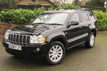 Jeep Grand Cherokee V8 CRD OVERLAND